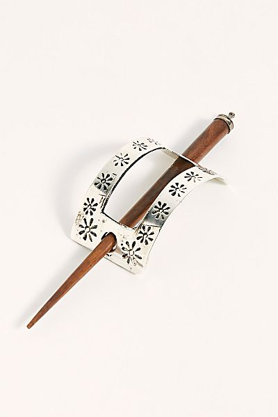 "Free People Hair Slide ""Sand Dunes"""